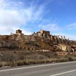 Steinbruch-Gebäude-Rest