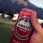 Holländisches Bier in Oberstdorf.