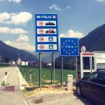 Rückweg durch die Schweiz.