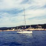 Boot fahren in Cassis.