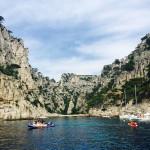 Die Calanques von Cassis in der Nähe von Marseille.