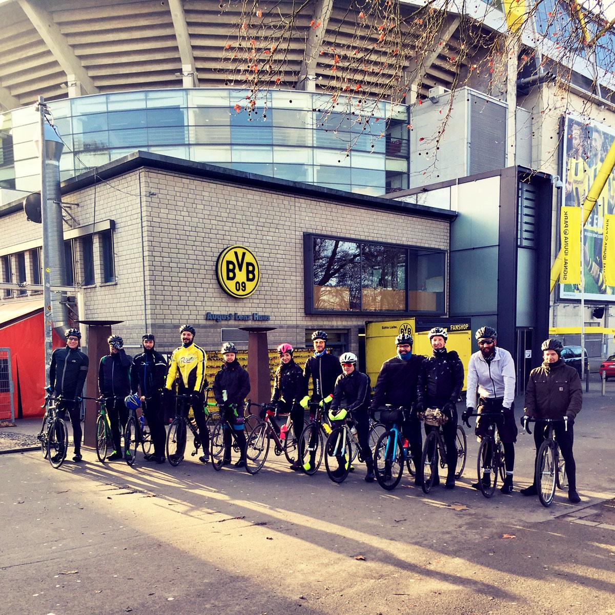 Die Reisegruppe in Dortmund
