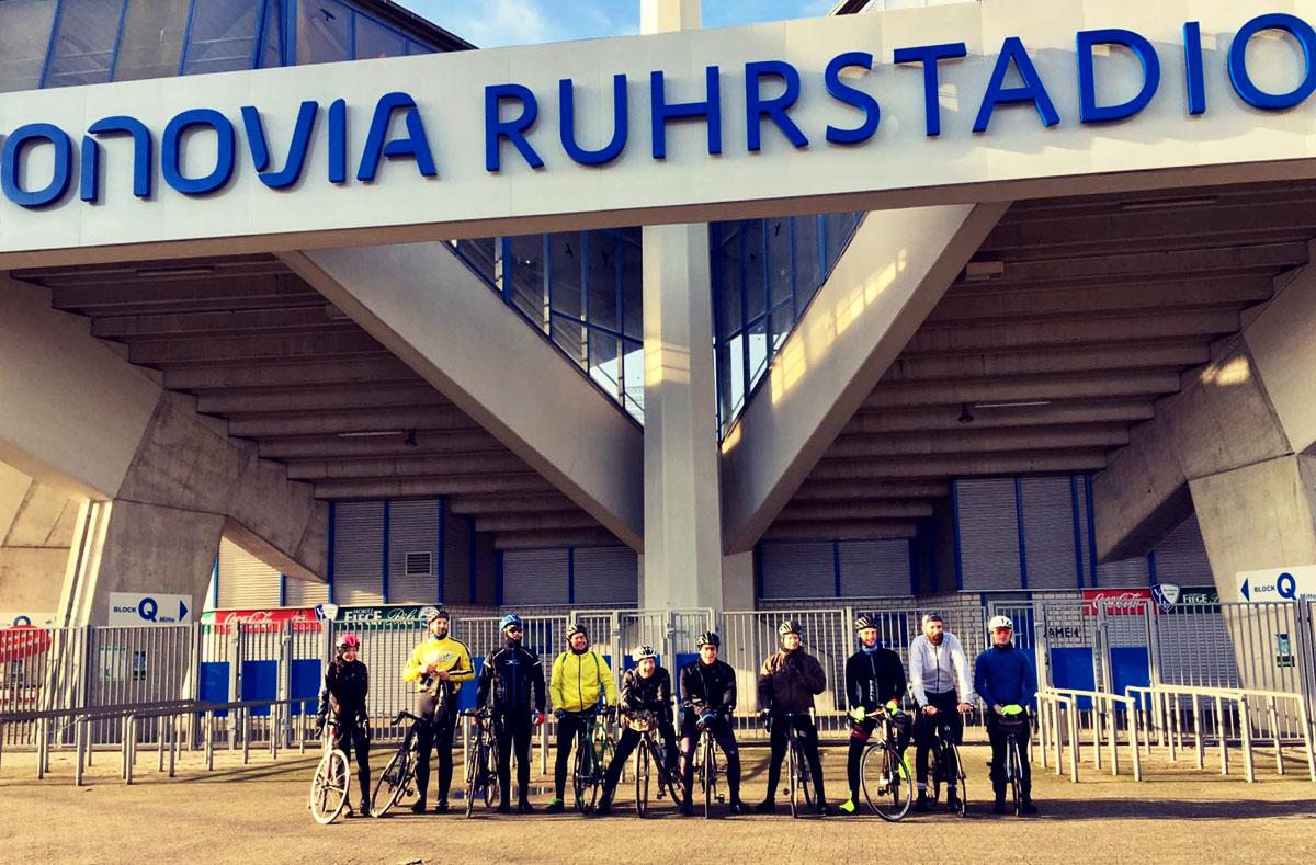 Die Reisegruppe in Bochum