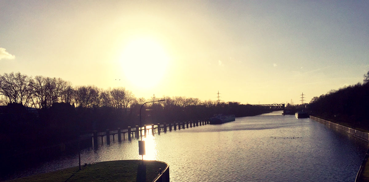 Rhein-Herne-Kanal.