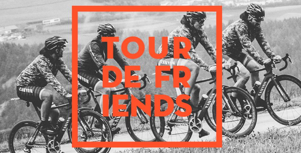 Tour de Friends: Mit Rad Race über die Alpen | Angefixed